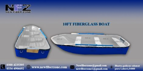 fiber glass 10ft boat