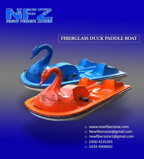 Duck Shaped Paddle Boats