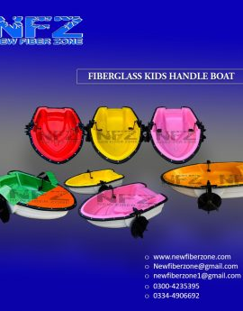 Kids Handle Boat