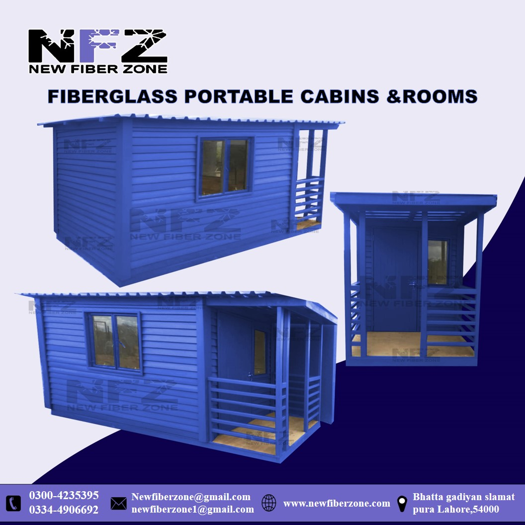 Fiberglass Portable Cabins and Rooms