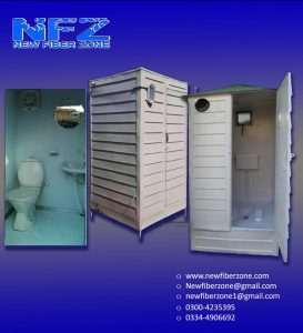 Fiberglass portable wash rooms